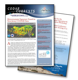 CODAR Newsletter - Fall 2013
